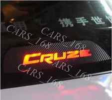 Amazing Carbon Fiber Break Light Stickers Adhesive Graphic Decals For Cruze
