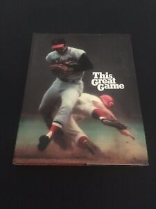 Brooks-Robinson-This-Great-Game-1971-Hardcover-Beautiful-Baseball-Picture-Book
