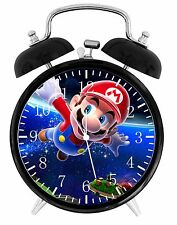"Super Mario Alarm Desk Clock 3.75"" Room Decor W04 Nice for Gifts Wake Up"