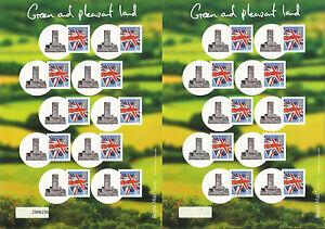 GREAT BRITAIN GB 2008 Royal Mail SMILERS SHEET CRICKET HAMBLEDON STONE No 37/50