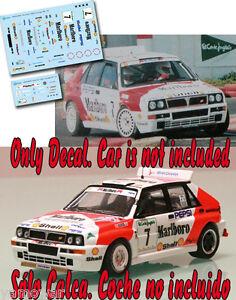 Decal-1-43-Luis-Monzon-LANCIA-DELTA-Rally-El-Corte-Ingles-1992