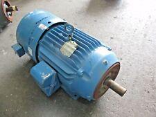 Baldor 20 Hp Vector Drive Motor Fr 256tc 230460 V 1765 Rpm 3 Ph 422140j