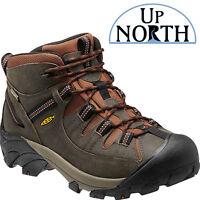 Keen Footwear Mens Targhee Ii Mid Waterproof Raven/tortoise Shell Hiking Shoes
