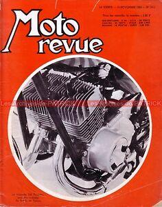 MOTO-REVUE-1813-HONDA-CB-125-SUZUKI-T20-YAMAHA-350-KAWASAKI-Salon-de-TOKYO-1966