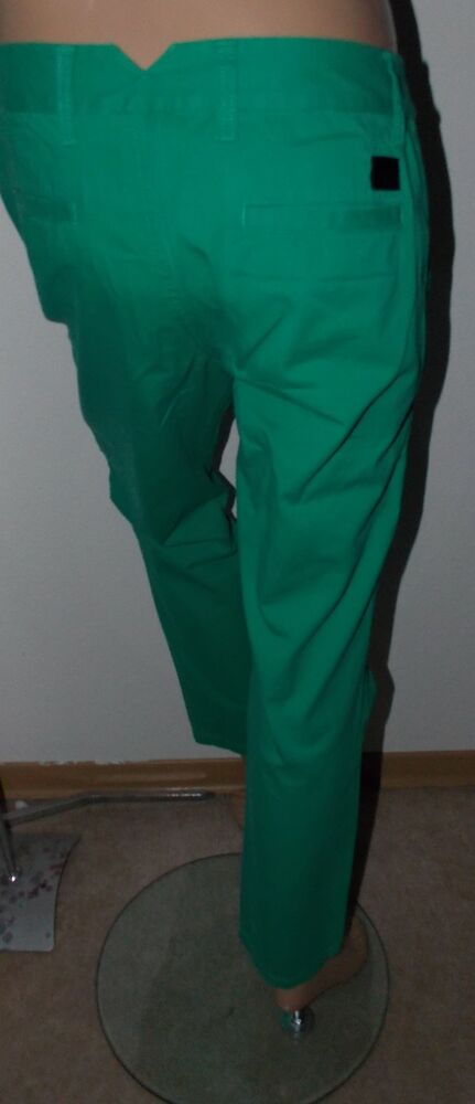 """103) Adidas Neo Jeans Pantalon En Vert Taille 28/32 Bezeichnug """"st Pnt"""" éLéGant Et Gracieux"""