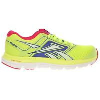 Reebok Dual Turbo Fire Running Womens Yellow Blue Pink