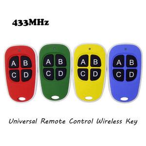 Gate-Opener-Master-Key-Remote-Control-Garage-Door-Wireless-Transmitter-433MHz