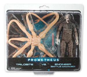 PROMETHEUS-Trilobite-vs-Engineer-Action-Figure-2-Pack-NECA-NEW