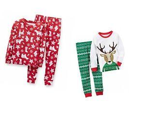 a6ac33960 Carter s Baby Boys 2-Piece Christmas Holiday Set - 2 Sets of Pajamas ...