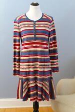 RALPH LAUREN Jeans Co Sz XL Cotton Stripe Southwest Henley Dress NWT