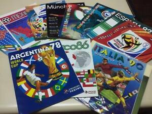 Set 11 Albums Panini Official FIFA World Cup Completes Reprinted Reimpreso