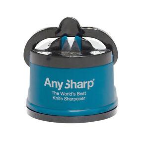 AnySharp-Knife-Knives-Sharpener-Tool-Gadget-Utensil-Classic-Blue-Suction-Genuine