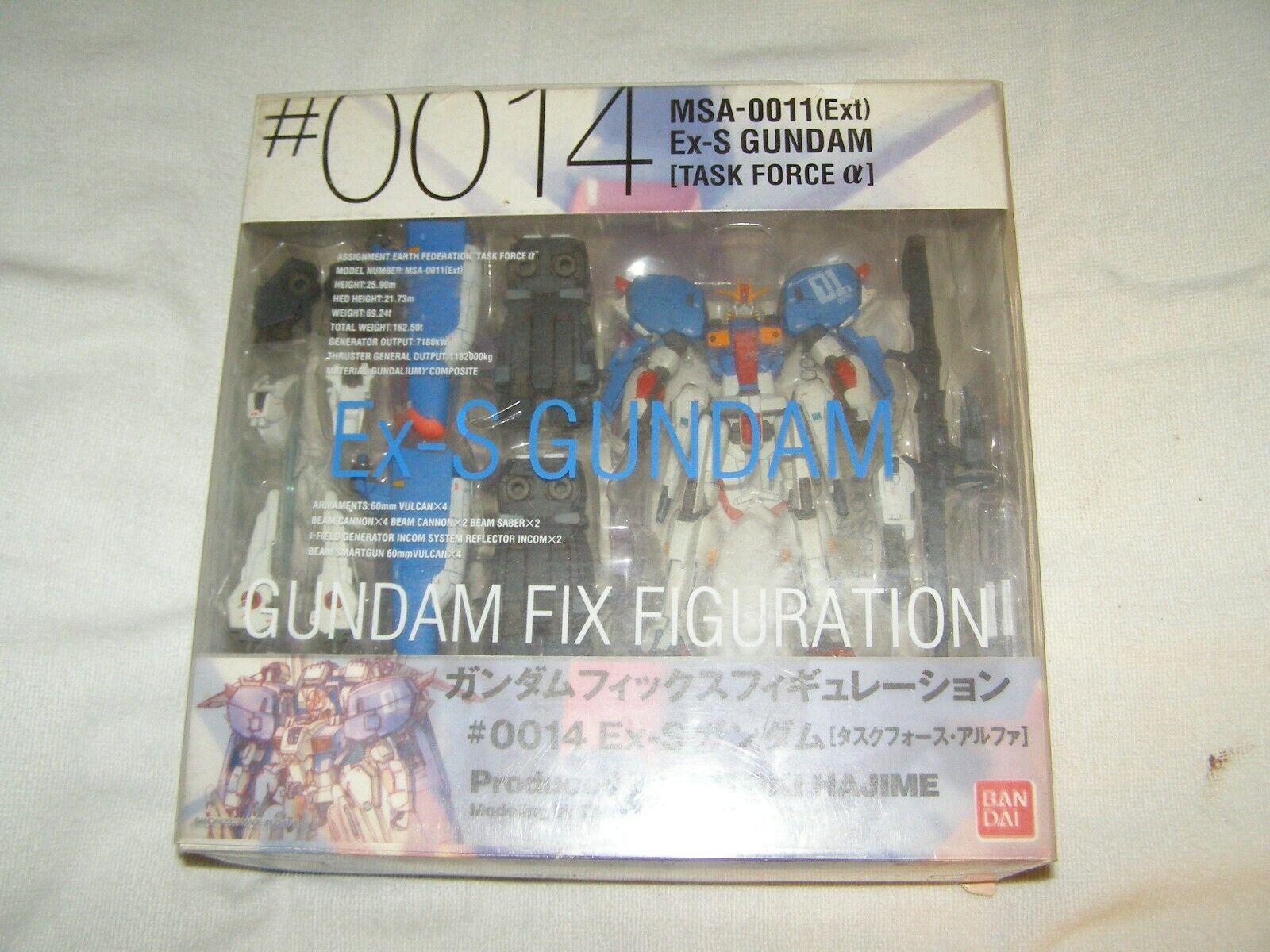 0014 Gundam FIX Figuration MSA-0011 EX-S Gundam action figure