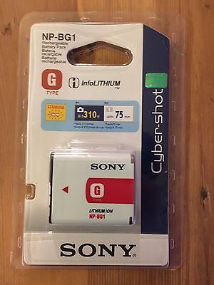 Official Sony Cyber-shot NP-BG1 Rechargeable Camera Battery NEW