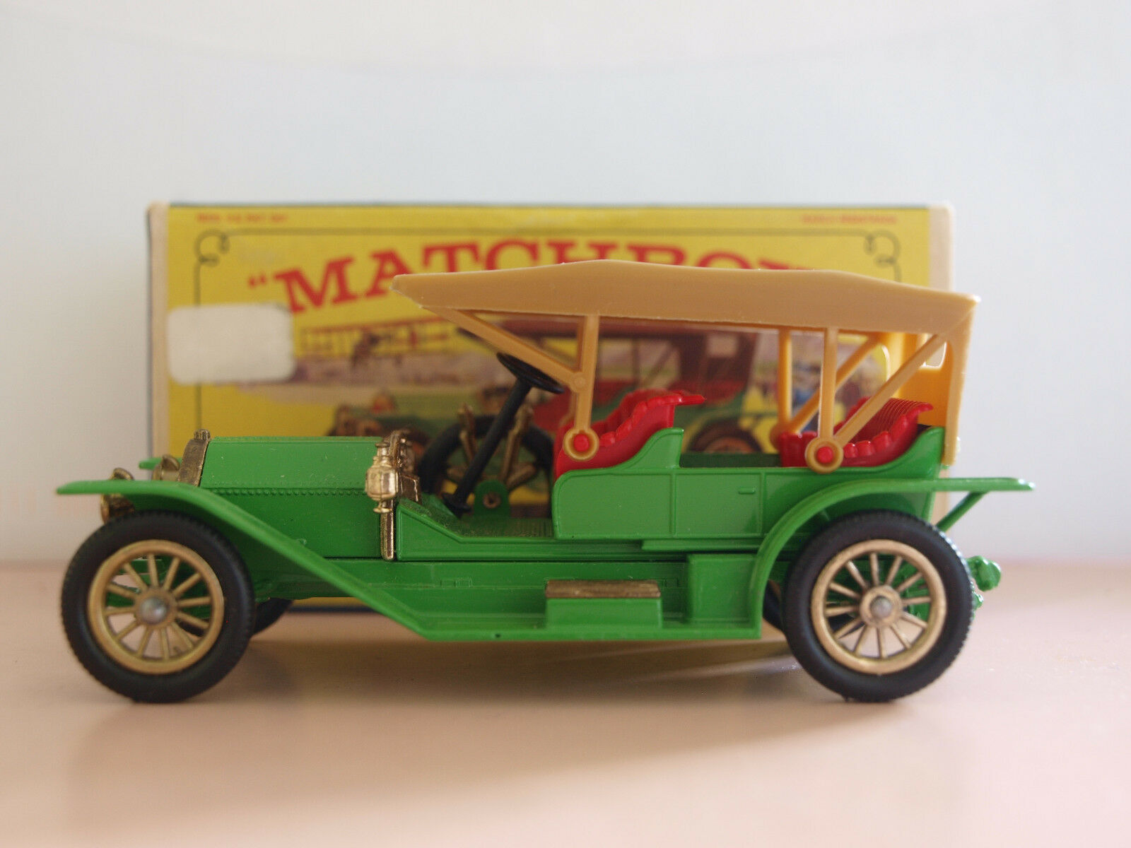 Vintage Matchbox Lesney 'Models of Yesteryear' 1912 SIMPLEX Y-9