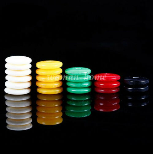 Bulk 100Pcs 6mm 8mm Charm Round Resin Spacer Loose Beads DIY for Jewelry Making
