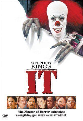 "IT STEPHEN KING MINI-SERIES DVD REGION 4 AUSTRALIA ""NEW&SEALED"" IN STOCK NOW!!!!"