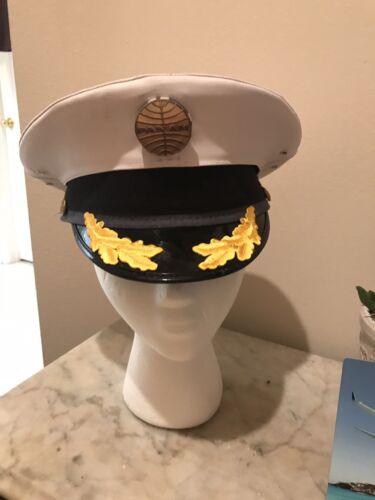 Pan Am Captain White Captain Hat Costume