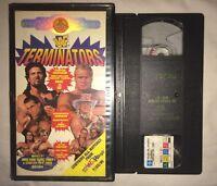 WWF Terminators In Your House (VHS, 1995) WWE WCW NWO COLISEUM VIDEO LUMBERJACKS
