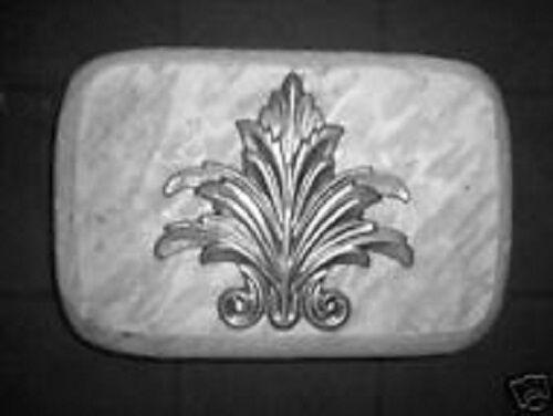 """fleur rain brick concrete plaster mold mould  1/8th"""" plastic 9"""" x 6"""" x 2"""""""
