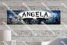 Personalized/Customized Maleficent Movie Name Poster Wall Art Decoration Banner