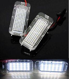 LED-Kennzeichen-Beleuchtung-fur-Ford-Focus-Mondeo-Fiesta-Galaxy-Kuga-C ...
