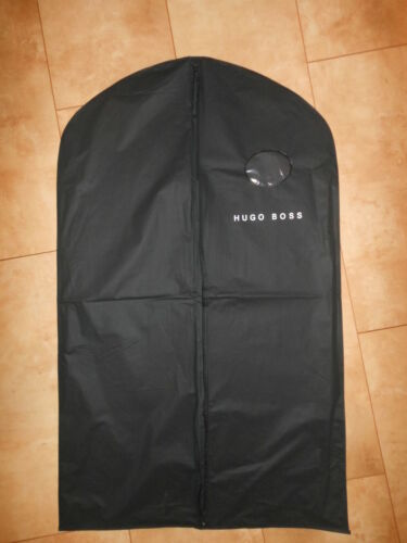 Hugo Boss Designer Black Suit Protector Cover Bag Waterproof Travel Luggage