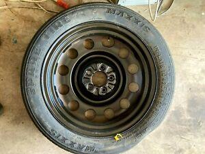 17x4-Maxxis-T155-70R17-Spare-Tire-Wheel-W-Jack-amp-Tool-Kit