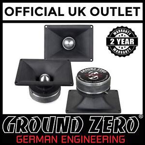 Ground-Zero-GZCTX4000X-4-Inch-280-Watts-Pair-Of-Bullet-Car-Speaker-Horn-Tweeters