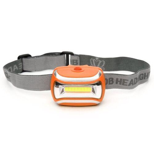 600LM LED 3 Mode Headlamp AAA Headlight Adjustable Camping Torch Lamp Light