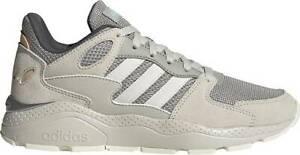 Scarpe-Sportive-Adidas-Crazy-Chaos-Donna-Beige-Cloudfoam-Alte-Sneaker-Ginnastica
