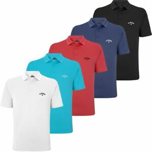SALE-50-OFF-RRP-CALLAWAY-GOLF-MENS-GOLF-TOP-SEAMLESS-STRETCH-SHORT-POLO-SHIRT