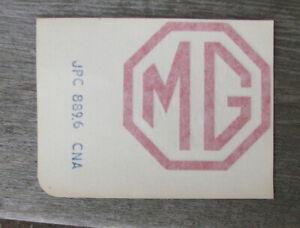 MG-Maestro-Montego-Metro-Arriere-Rouge-Mg-Badge-Logo-sticker-decal-JPC8896CNA-nouveau