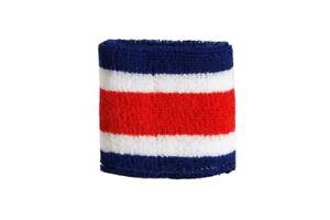 Schweisband-drapeau-drapeau-costa-rica-2er-set-7x8cm-Bracelet-de-sport