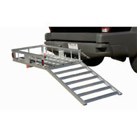 Wheelchair Scooter Cart Hitch Mobility Aluminum Carrier Detatchable Ramp on sale