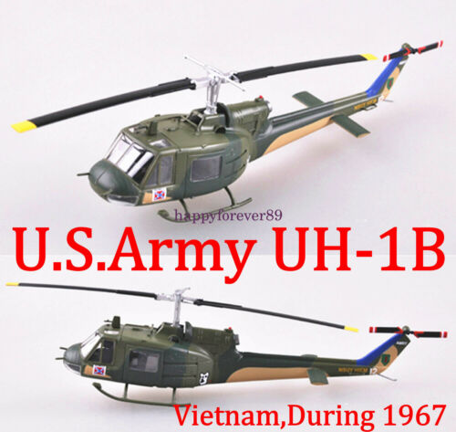 """Easy Model 1//72 US UH-1B /""""Huey/"""" N°64-13912,Vietnam,During 1967 #36907"""