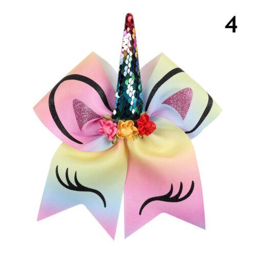 Dovetail Unicorn Horn Headband Glitter Sequin Girls Rubber Band