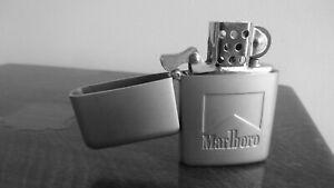 MARLBORO-GASOLINA-Mechero-Encendedor-Lighter-Briquet-Accentino
