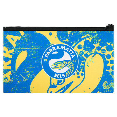 QUALITY LARGE NRL Parramatta Eels Pencil Case for School Work stationary
