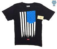 Levis Painted Usa Flag T-shirt Asap Rocky Guess