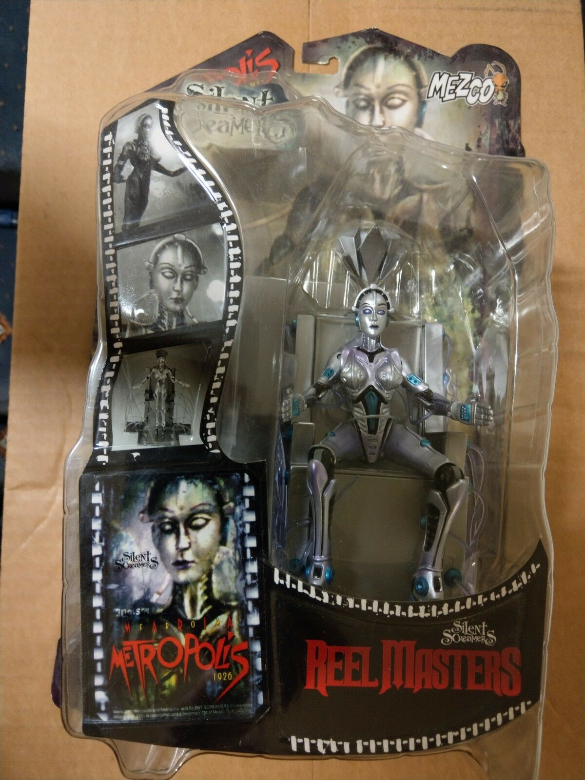 Mezco Silent Screamers Reel Masters Metropolis Boxed Figure