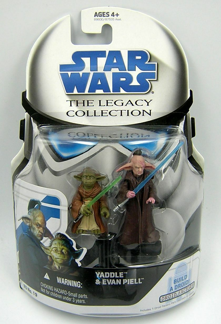 Star Wars Legacy Collection BD19 Yaddle & Evan Piell
