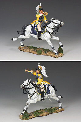 KING AND COUNTRY French Cuirassier Charging Bugler NA251