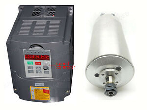 1-5KW-Water-Cooled-Spindle-Motor-amp-Inverter-Drive-VFD-CNC-Engraving-GRINDING