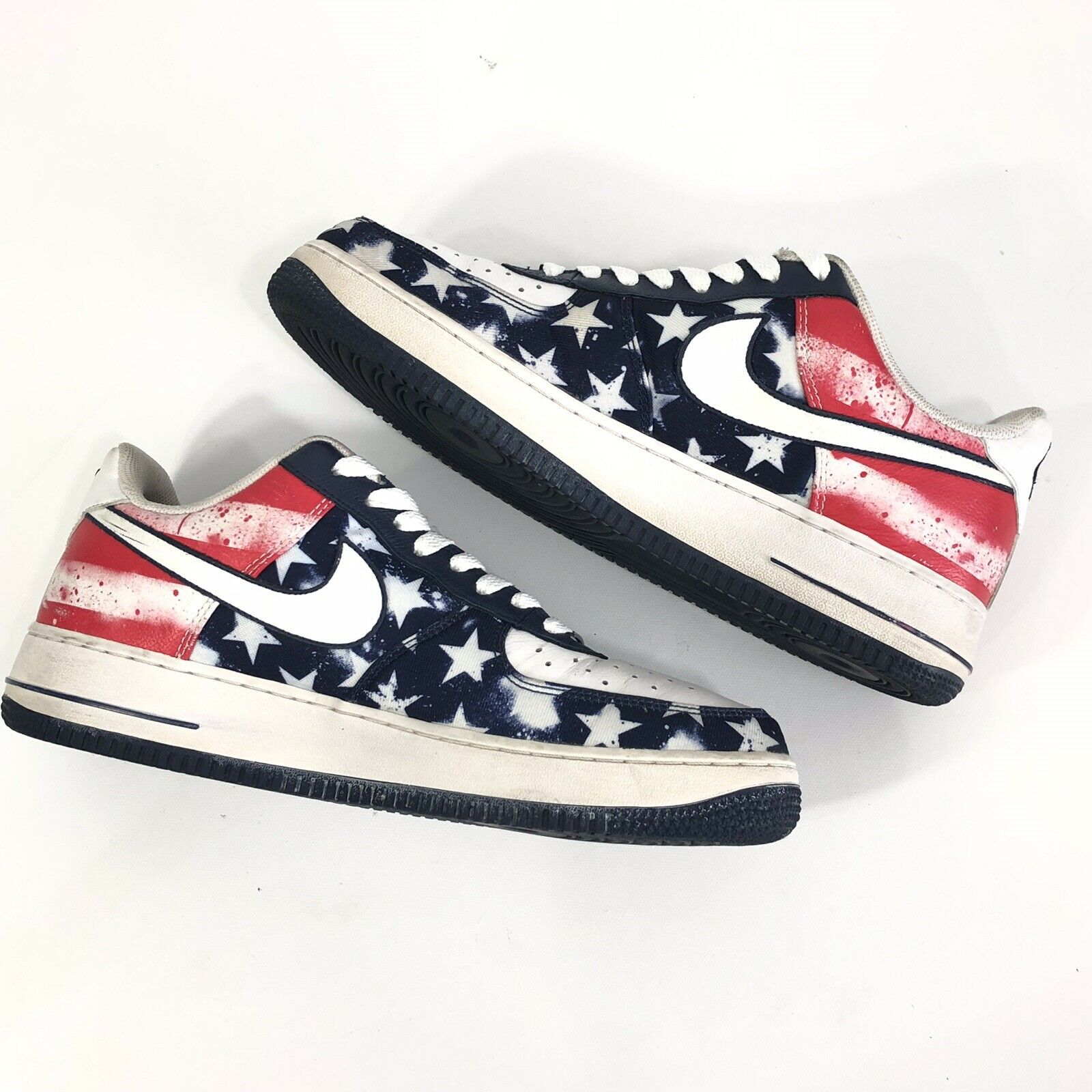 Original Nike Air Force 1 Low Independence Day Men's Red