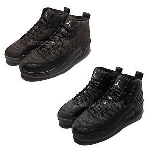 Nike Air Jordan 12 Retro Wool XII AJ12 Shoes Men 852627-003 / Women 852626-003