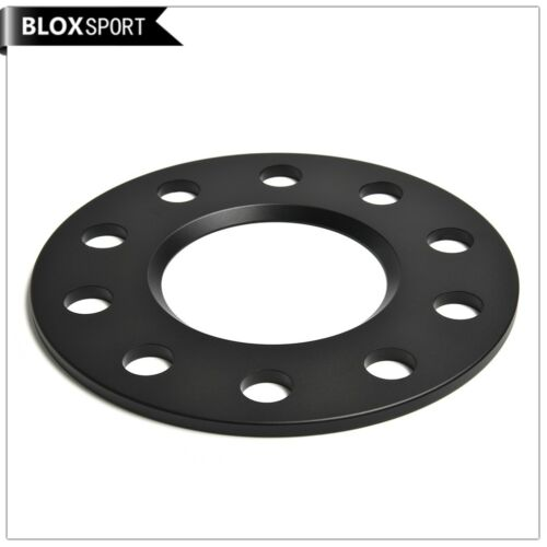 Forged Safety wheel spacers 2pcs 5mm 5x120 bolt pattern for BMW sedan black
