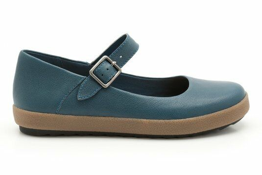 NEW Clarks Damenschuhe ACTIVE  FARROW EAST  ACTIVE Damenschuhe AIR   TEAL LEATHER  UK 9 0415b3