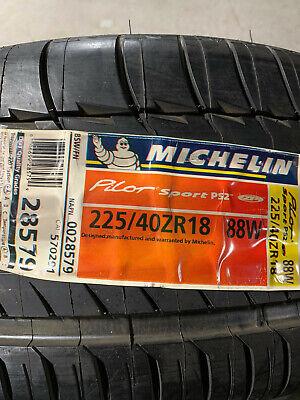 2 new 225 40 18 88w michelin pilot sport ps2 zp run flat tires ebay. Black Bedroom Furniture Sets. Home Design Ideas