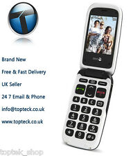 New Doro Phone Easy 612/611 - Black (Unlocked,) Mobile Phone